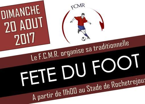 fete du football du FCMR aout 2017